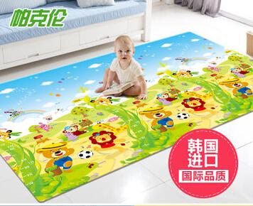 帕克轮韩国婴儿爬行垫